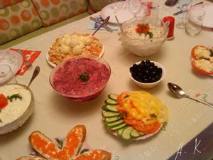 Дешевые блюда на праздничный стол
